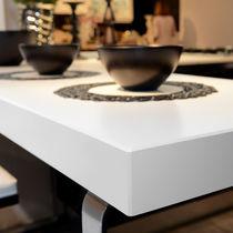 Composite countertop / kitchen / white
