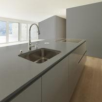 Composite countertop / kitchen / gray