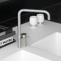 Stainless steel mixer tap / kitchen / 1-hole