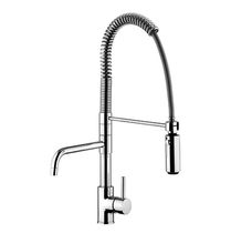 Brass mixer tap / kitchen / 1-hole
