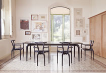 Contemporary table / MDF / indoor / residential