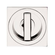 Door handle / brass / contemporary / built-in