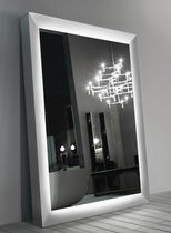 Free-standing mirror / contemporary / square