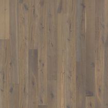 Solid wood flooring / glued / oak / stained