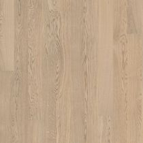 Solid wood flooring / glued / oak / matte