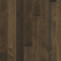Solid wood flooring / glued / oak / natural oil