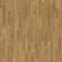 Engineered wood flooring / glued / oak / lacquered