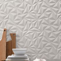 3D tile / indoor / wall / porcelain stoneware
