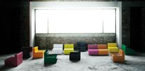 Contemporary fireside chair / indoor / by Piero Lissoni