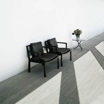 Contemporary armchair / in textile / by Piero Lissoni