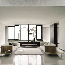 Contemporary sofa / fabric / by Piero Lissoni / 3-seater