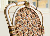 Traditional dining chair / rattan