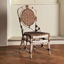 Dining chair / traditional / rattan