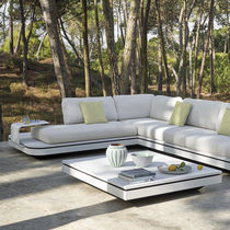 Modular sofa / contemporary / outdoor / fabric
