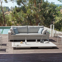 Modular sofa / corner / contemporary / outdoor