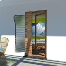 Pocket shutters / wooden / door