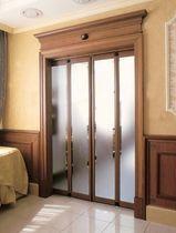 Interior door / folding / aluminum / automatic