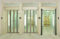 Entry door / folding / automatic / for public buildings