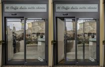 Sliding entry door / automatic / glazed / for public buildings