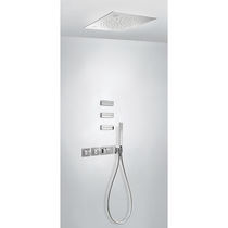 Recessed wall shower set / recessed ceiling / contemporary / with hand shower