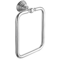 Towel ring / wall-mounted / metal