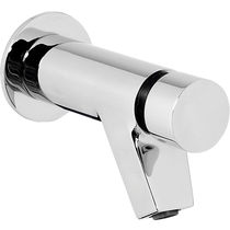 Washbasin mixer tap / built-in / chromed metal / self-closing