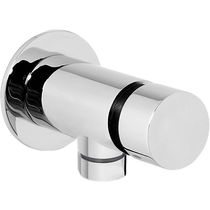 Built-in mixer tap / chromed metal / bathroom / 1-hole