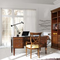 Multimedia desk / wooden / classic