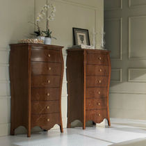 Classic chiffonier / wooden / white / brown