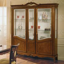 Classic display case / glass / wooden