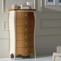 Traditional chiffonier / wooden / white