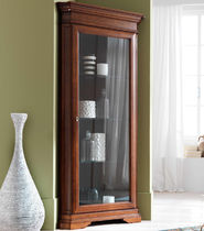 Traditional china cabinet / glass / wooden