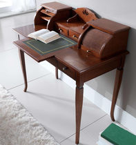 Traditional secretary desk / wooden / with storage
