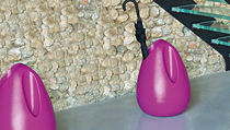 Low-density polyethylene (LDPE) umbrella stand / by Karim Rashid