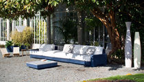 Modular sofa / contemporary / garden / polyethylene