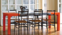 Dining table / contemporary / metal / low-density polyethylene LDPE