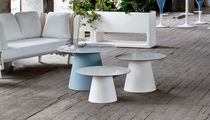 Side table / contemporary / HPL / polyethylene