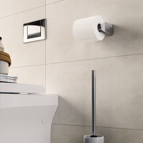 Wall-mounted toilet paper dispenser / metal
