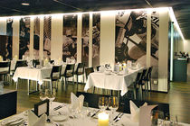 Contemporary table / HPL / for restaurants