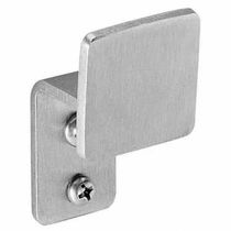 Contemporary coat hook / stainless steel / commercial