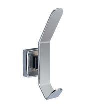 Contemporary coat hook / stainless steel / bathroom / for hotels
