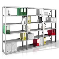 Modular shelf / contemporary / metal / commercial