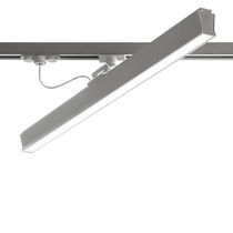 LED track light / fluorescent / linear / extruded aluminum