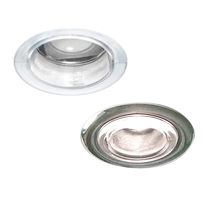 Recessed downlight / LED / round / polycarbonate