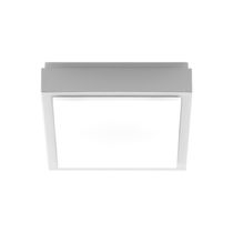 Surface mounted downlight / LED / square / cast aluminum