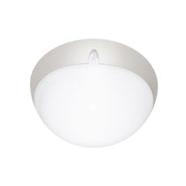 Surface-mounted light fixture / compact fluorescent / halogen / round