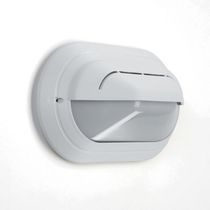 Contemporary wall light / outdoor / polycarbonate / thermoplastic