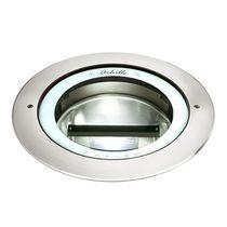 Recessed floor light fixture / HID / round / outdoor