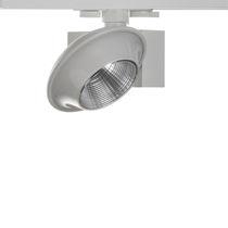 LED track light / round / aluminum / thermoplastic