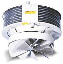 Electric air heater / ceiling-mounted
